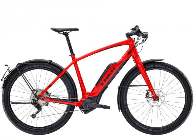 Trek Super Commuter+ 8S - 28 -  Viper Red 2017