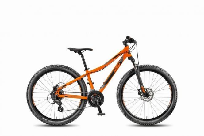 KTM Wild Speed Disc 26 orange matt schwarz 24 Gang