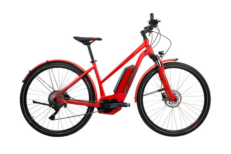 Cube Cross Hybrid Pro 400 Allroad red´n´grey 2019 - Trapeze Lady 28 -