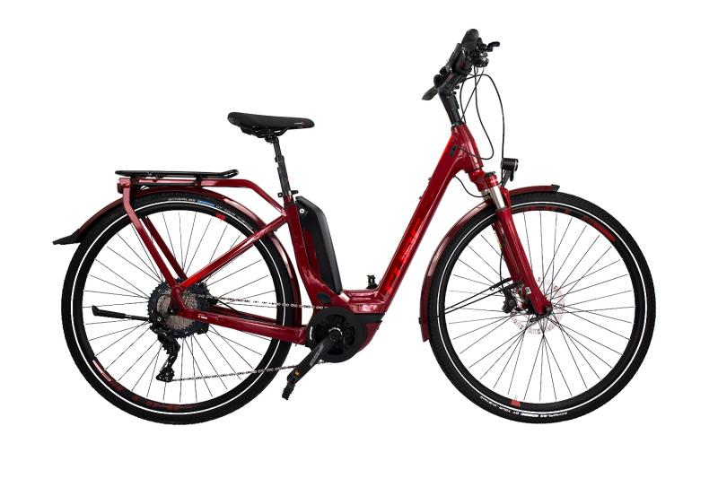 Cube Touring Hybrid EXC 500 - Easy Entry 28 - darkred´n´red 46