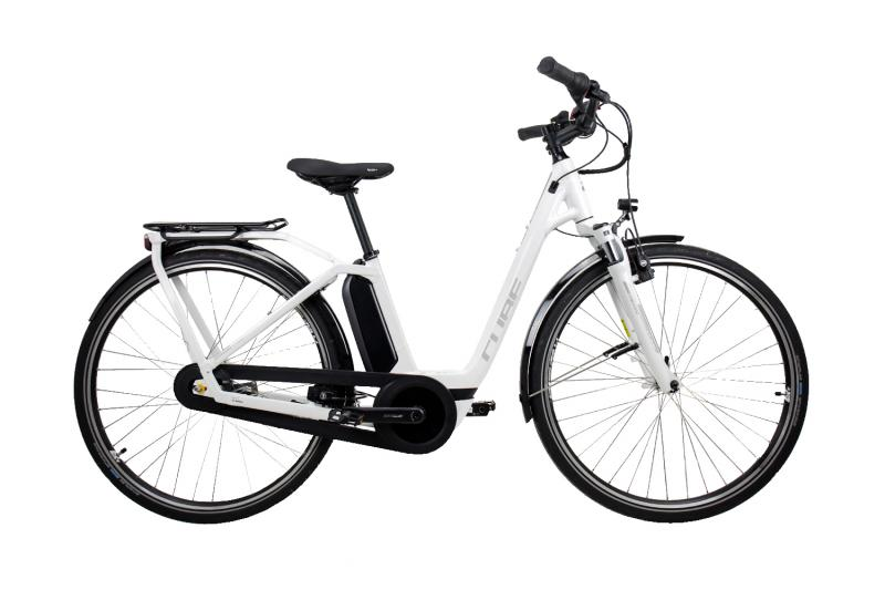 Cube Town Hybrid Pro RT 400 white´n´silver 2019 - Easy Entry 28 -