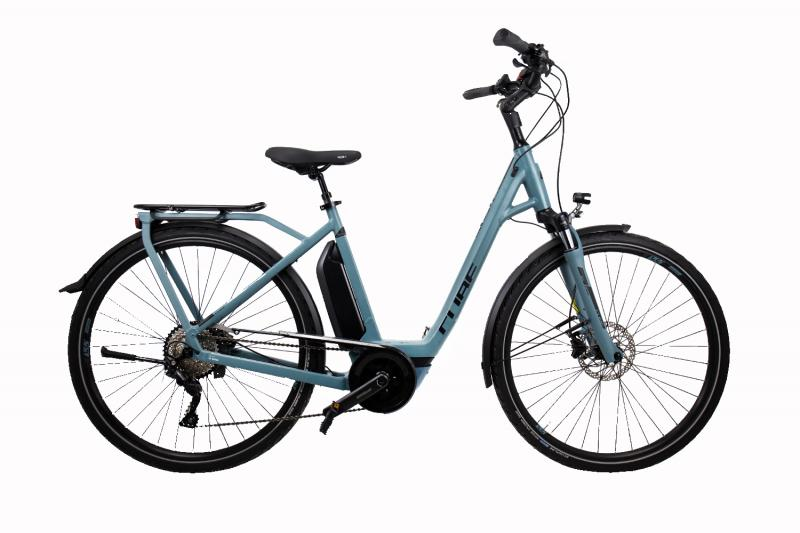 Cube Town Sport Hybrid Pro 500 - Easy Entry 28 - blue´n´black 46
