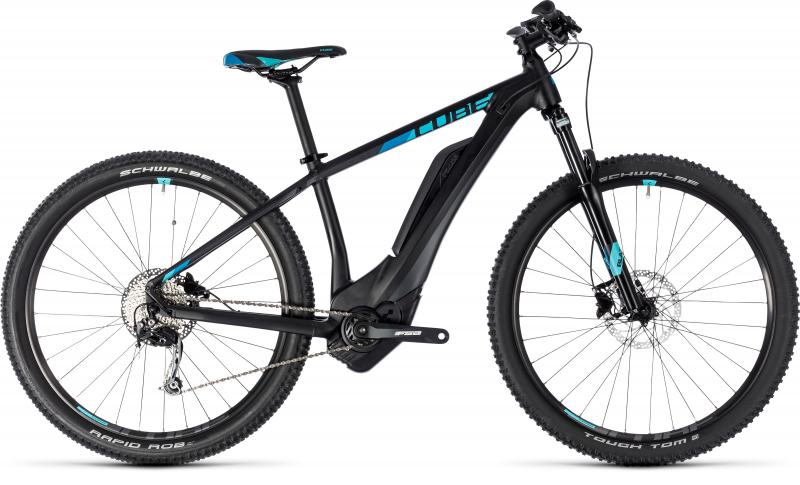 Cube Cube Access Hybrid ONE 500 black´n´aqua 2018 - 27.5 -  XS