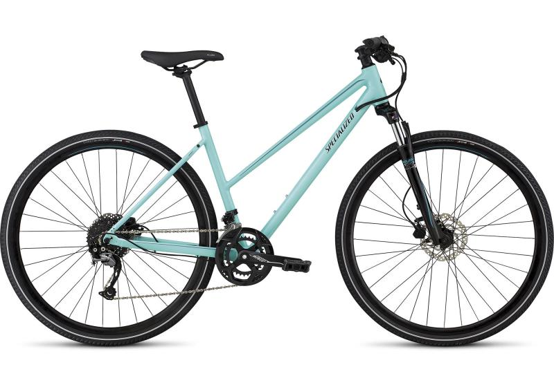 Specialized Ariel Sport Step-Through - 28 -  Light Turquoise/Turquoise/Tarmac Black Reflective 2019
