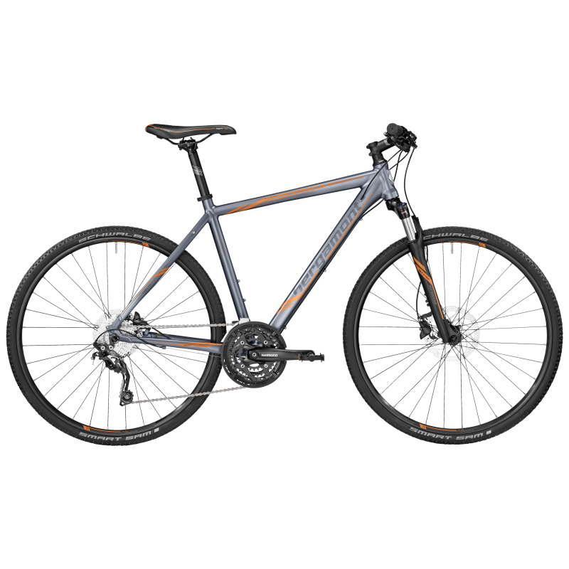 Bergamont Helix 7.0 titan grey/orange (matt) 2017 - Gent -
