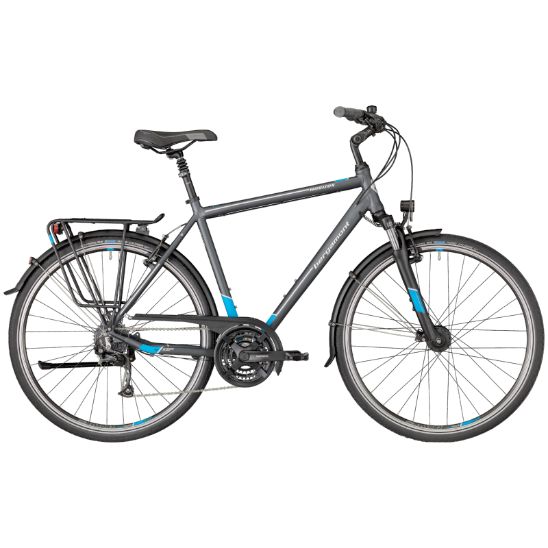 Bergamont Horizon 3.0 Gent grey/cyan/white (matt) 2018 - 28 -