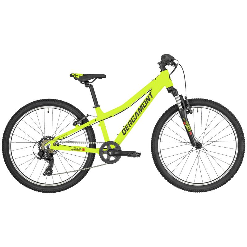 Bergamont Revox 24 Boy lime green/black/red (matt)