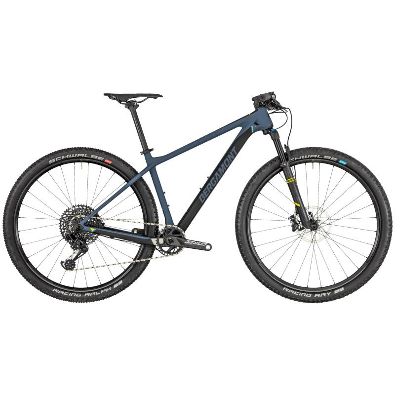 Bergamont Revox Ultra dark bluegray/black/yellow (matt)