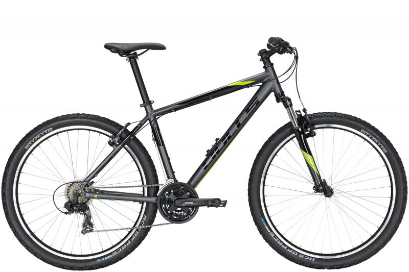 Bulls Pulsar  grey matt/black/metallic lime 2020 - 27,5 -