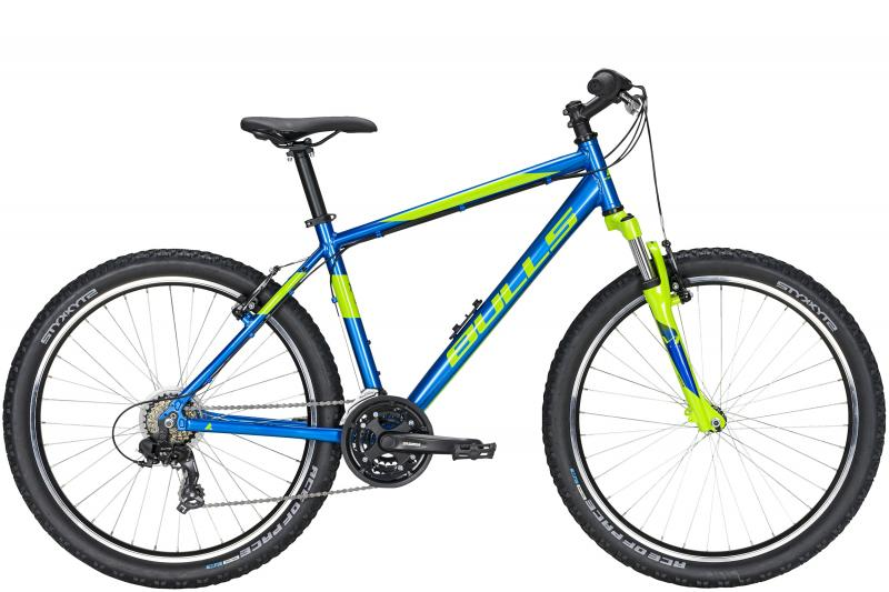 Bulls Pulsar Eco  chrome blue/metallic lime 2020 - 27,5 -