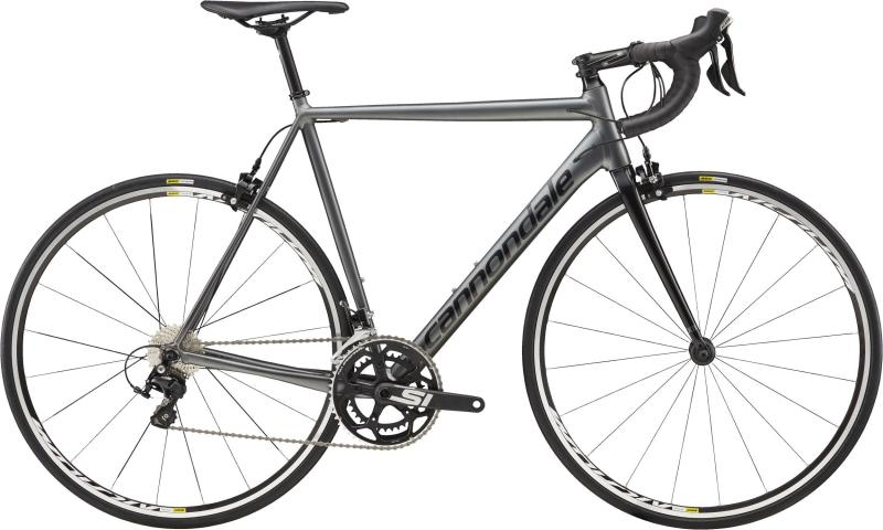 Cannondale CAAD12 105 BBQ Charcoal Gray w/ Jet Black - Satin/Gloss 2018 - 28 -