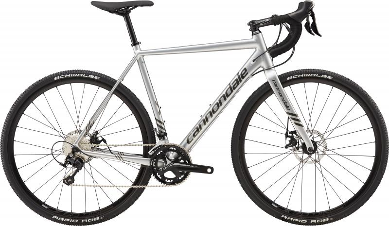 Cannondale CAADX 105 SLV Fine Silver w/ Anthracite - Gloss 2018 - 28 -