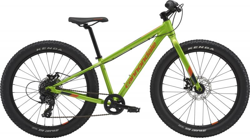 Cannondale Cujo AGR OS Acid Green with Hazard Orange and Midnight Blue 2018 - 24 -
