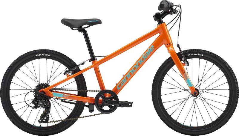 Cannondale Kids QUICK 20 BOY'S ORG OS Hazard Orange w/ Slate and Turquoise, Gloss 2018