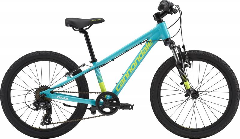 Cannondale Kids Trail 20 GIRL'S TRQ OS Turquoise w/ Volt and Cashmere, Gloss 2018