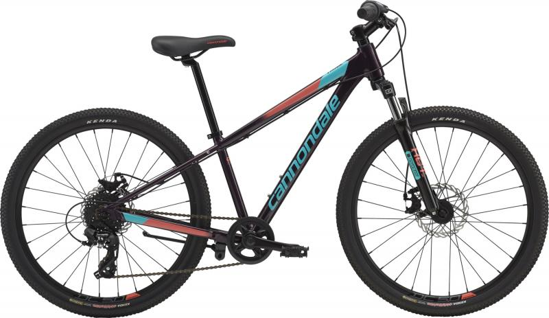 Cannondale Kids Trail 24 GIRL'S GXY OS Galaxy w/ Turquoise and Coral, Gloss 2018