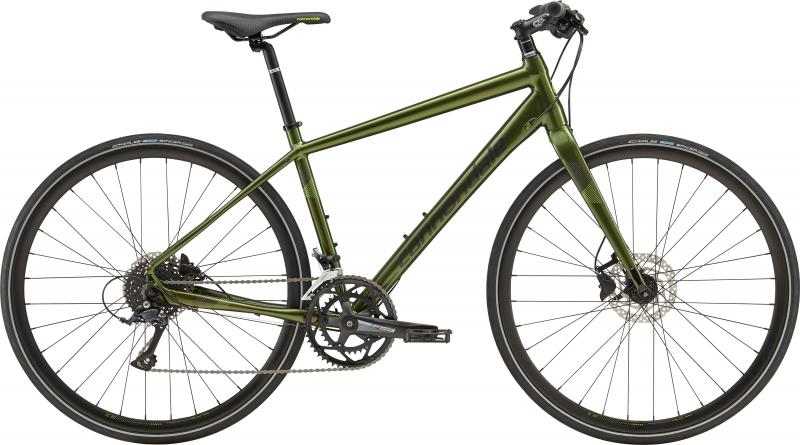 Cannondale Quick Disc 3 VUG Vulcan w/ Jet Black and Cannondale Green - Gloss 2019 - HE 28 -  L