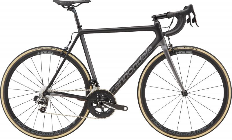 Cannondale SuperSix EVO Carbon Red eTap CPR Jet Black w/ Charcoal Gray and Copper - Satin 2018 - 28 -