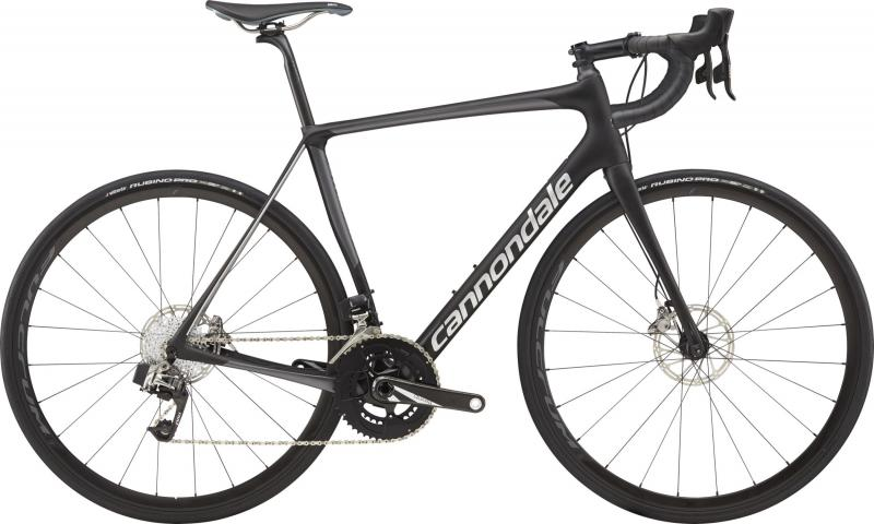 Cannondale Synapse Carbon Disc Red eTap BBQ Jet Black w/ Charcoal Gray and Fine Silver - Gloss 2018 - 28 -