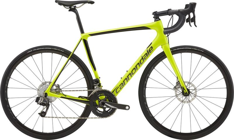 Cannondale Synapse Carbon Disc Red eTap VLT Jet Black w/ Charcoal Gray and Fine Silver - Gloss 2018 - 28 -