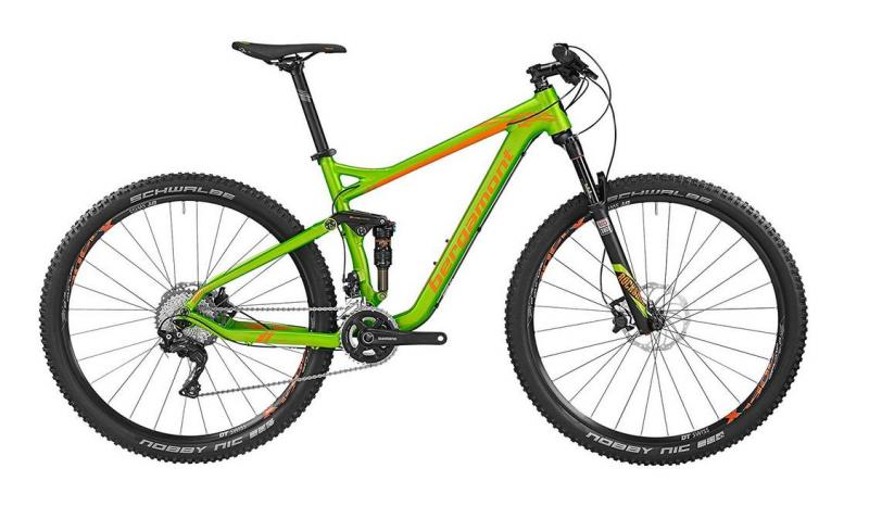 Bergamont Contrail LTD apple green / orange (matt) 2016