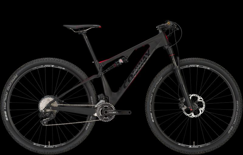 Conway MFC 929 CARBON carbon/red 2018 - Diamant 29 -
