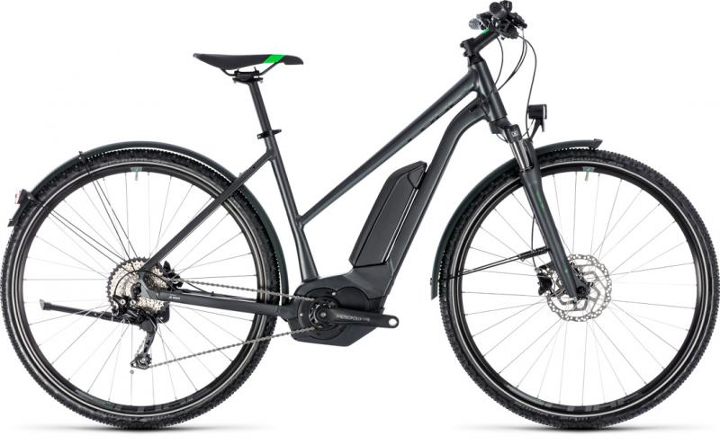Cube Cross Hybrid Pro Allroad 500 grey´n´flashgreen 2018 - Trapeze 28 -