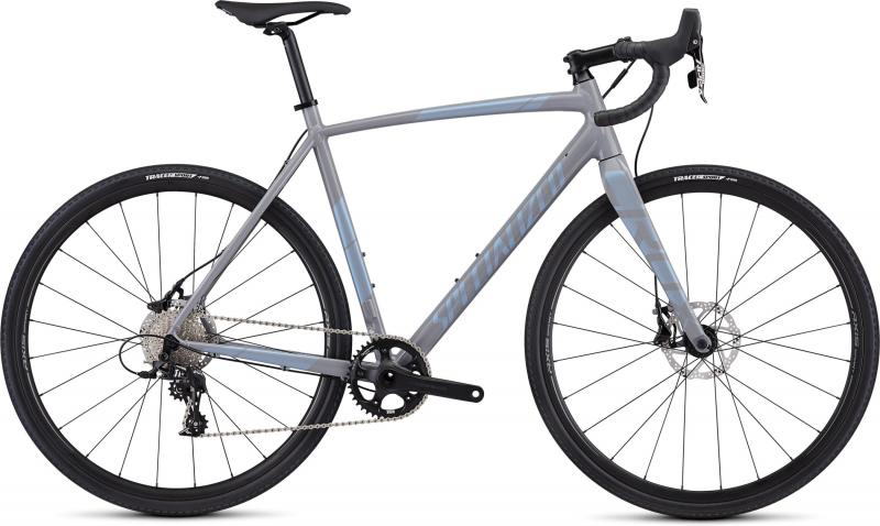 Specialized CruX E5 Sport - 28 -  Gloss Cool Grey/Blue Ghost Pearl 2019