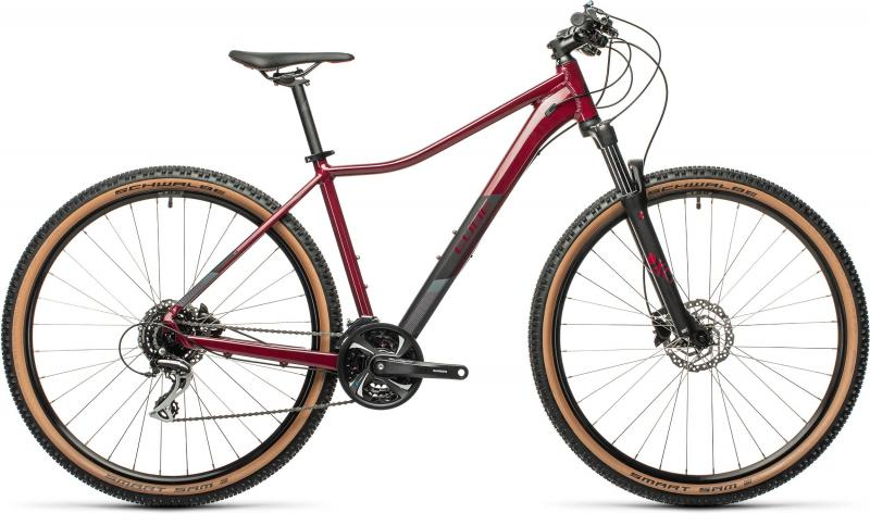 Cube ACCESS WS EXC Darkberry´n´black  2021 - 27,5