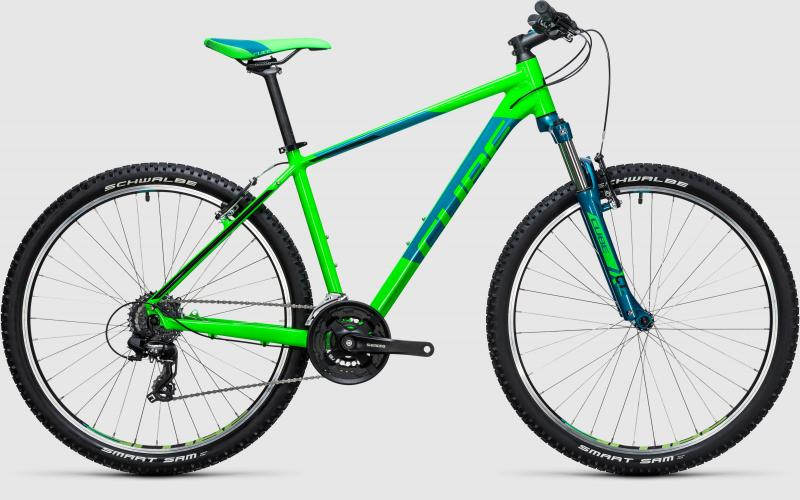 Cube Aim 27.5 green´n´blue 2017 - 27,5 -