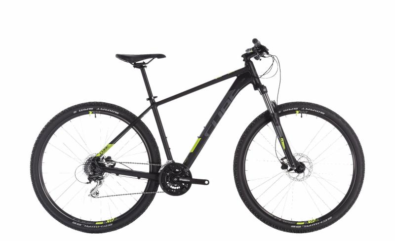 Cube Aim Pro black´n´flashyellow 2019 - MTB 29 -