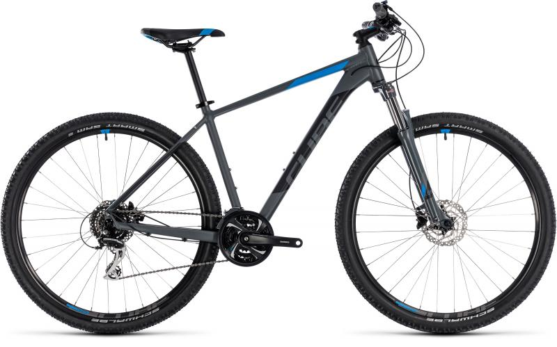 Cube Aim Race grey blue 2018 - 27.5 -