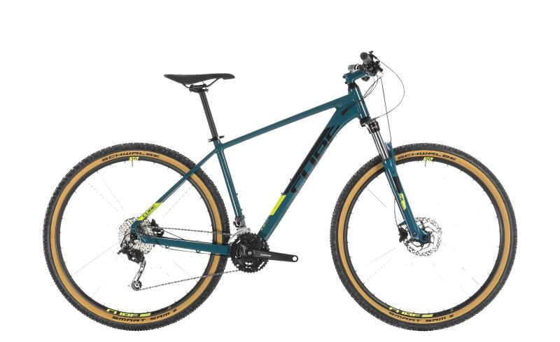 Cube Aim SL - MTB 27,5 - pinetree´n´flashyellow 16
