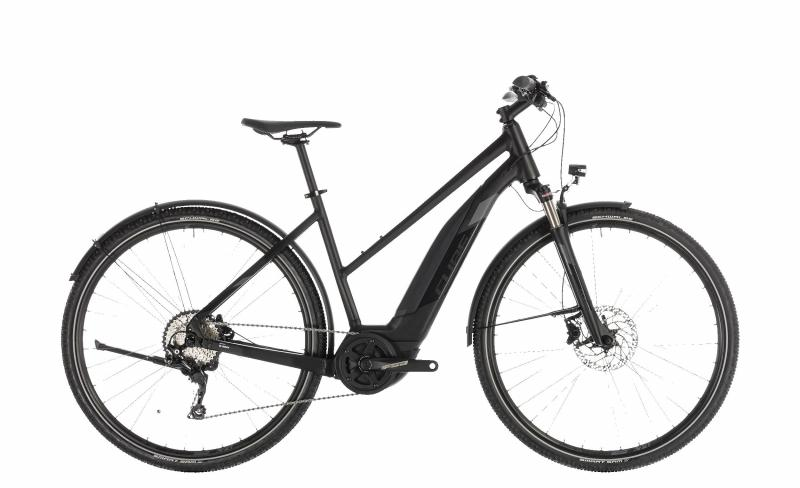 Cube Cross Hybrid EXC 500 Allroad black´n´grey 2019 - Trapeze Lady 28 -