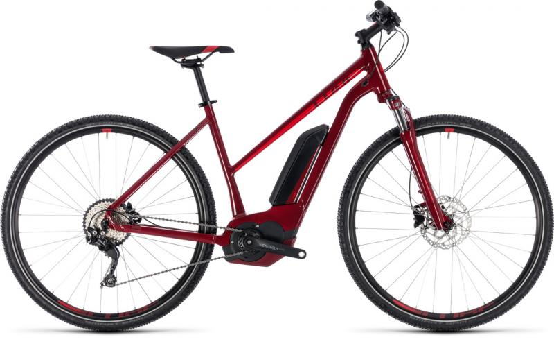 Cube Cross Hybrid Pro 500 darkred´n´red 2018 - Trapeze 28 -