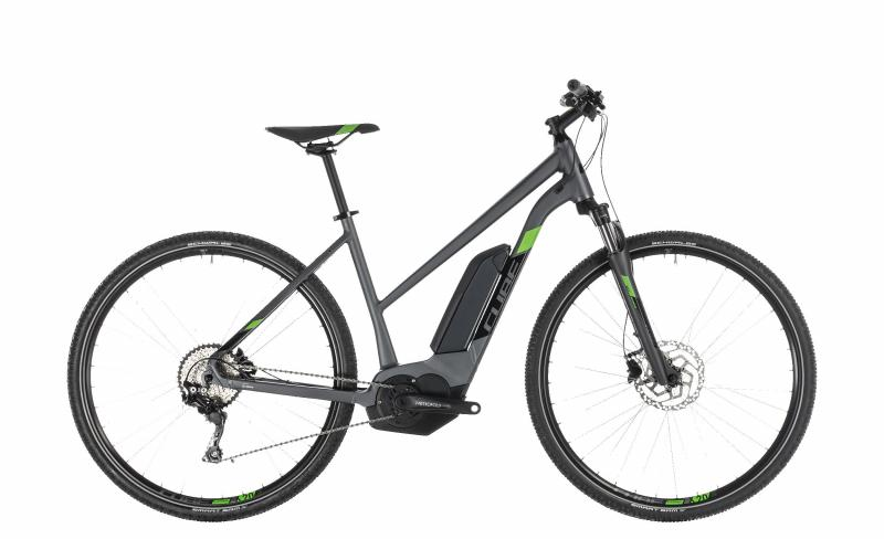 Cube Cross Hybrid Pro 500 iridium´n´green 2019 - Trapeze Lady 28 -
