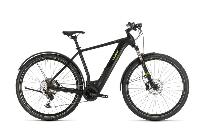 Cube Cross Hybrid Race 625 Allroad - Men -  black´n´green 2020