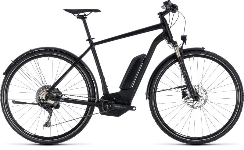 Cube Cross Hybrid Race Allroad 500 black´n´white 2018 - Men 28 -