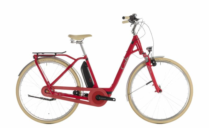 Cube Elly Cruise Hybrid 400 red´n´mint 2019 - Easy Entry 28 -