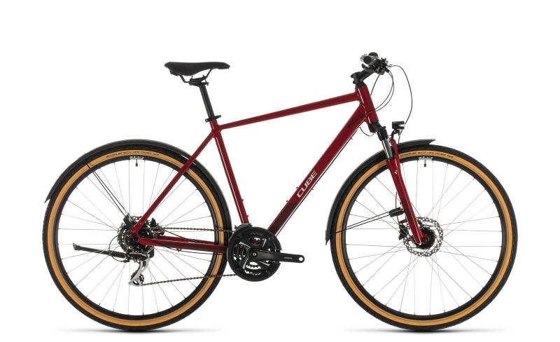 Cube Nature Allroad ´n´ - Diamant -  red´n´grey 2020