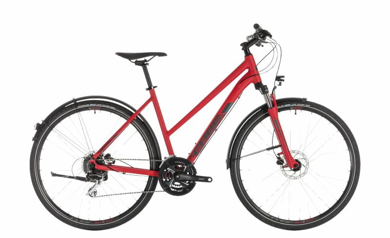 Cube Nature Allroad red´n´grey 2019 - Trapeze 28 -