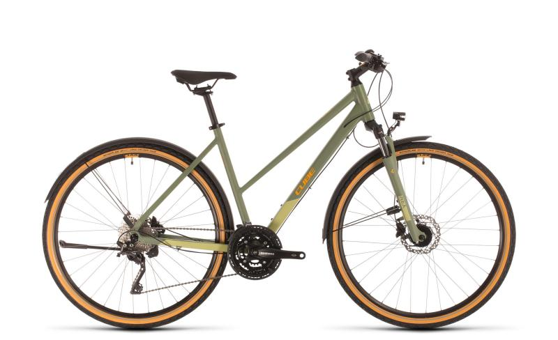 Cube Nature EXC Allroad green´n´orange 2020 - Trapeze -  50