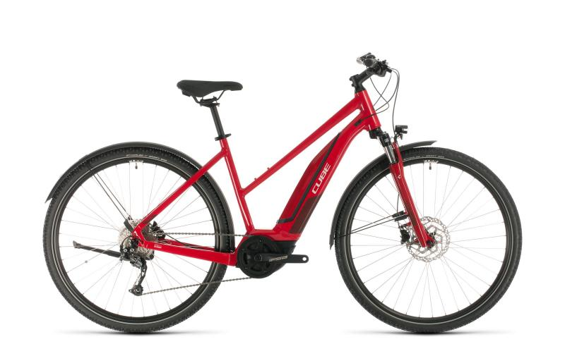 Cube Nature Hybrid ONE 500 Allroad ´n´ - Trapeze -  red´n´red 2020