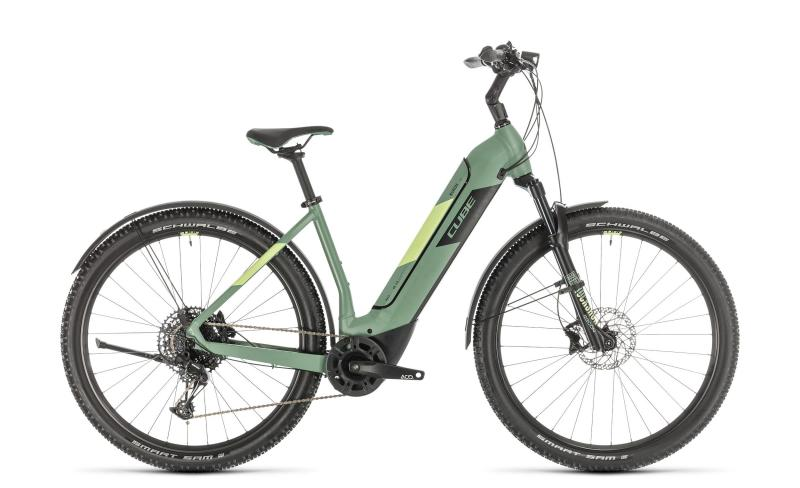 Cube Nuride Hybrid EXC 625 Allroad ´n´sharp - Easy Entry -  green´n´sharpgreen 2020