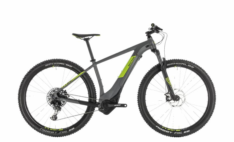 Cube Reaction Hybrid EAGLE 500 grey´n´green 2019 - MTB 27,5 -