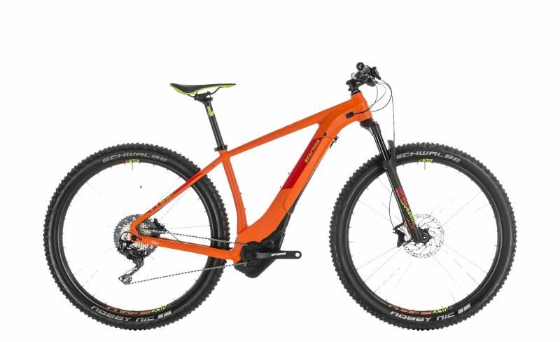 Cube Reaction Hybrid SL 500 - MTB 27,5 - orange´n´green 18