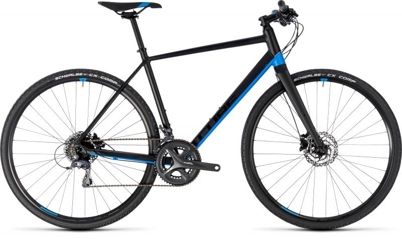 Cube SL Road - Men 28 - black´n´blue 56