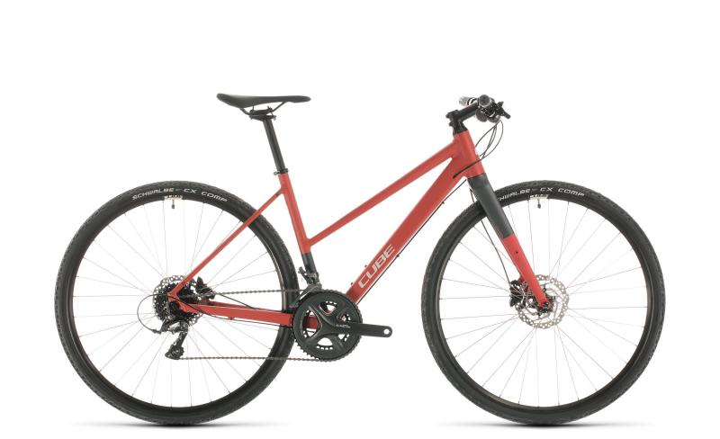 Cube SL Road red´n´grey 2020 - Trapeze -  50