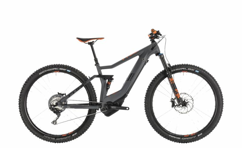Cube Stereo Hybrid 120 HPC TM 500 grey´n´orange 2019 - MTB 29 -