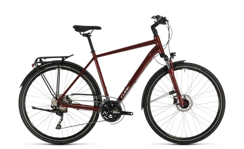 Cube Touring EXC ´n´ - Diamant -  red´n´grey 2020